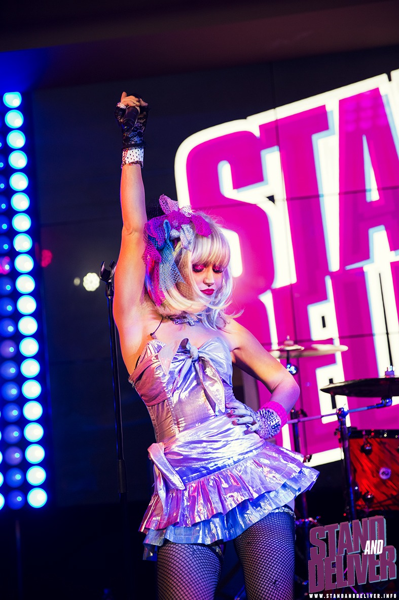 80s band dancer singer melbourne perth stage style music